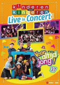 Cover Kinderen Voor Kinderen - Live In Concert 2016 - Voor altijd jong! 37 [DVD]